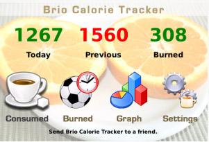 Brio Calorie Tracker