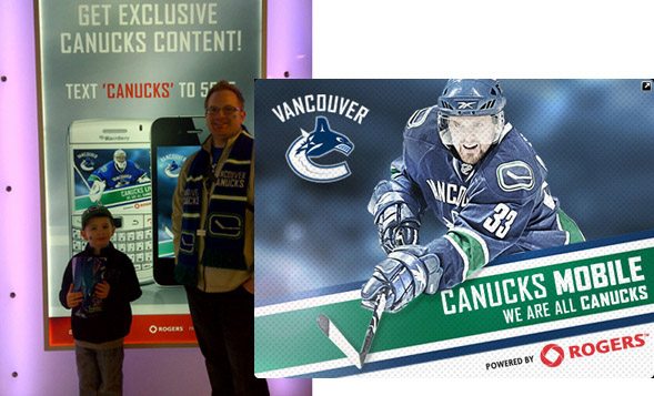 Canucks app
