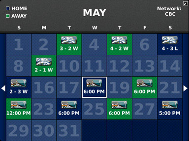 canucks schedule