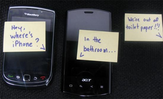 Cross-platform messaging