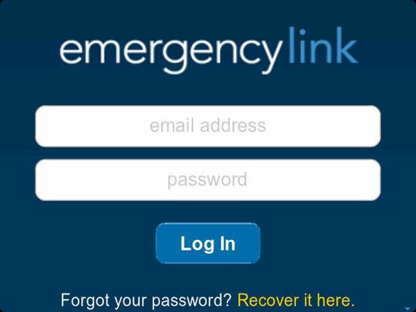 emergency link