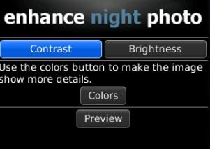 Enhance Night Photo