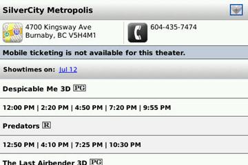 Fandango Theatre Details