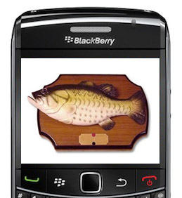 BlackBerry Apps for fishing