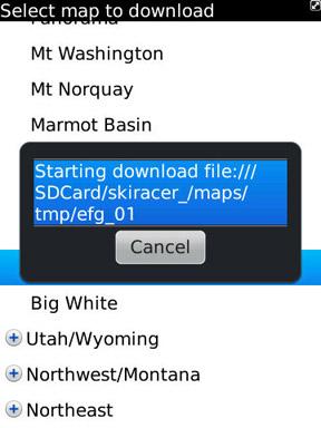 GPS Ski Maps download map