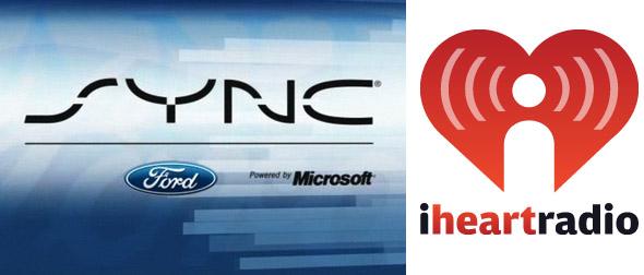 iHeartRadio Ford SYNC AppLink