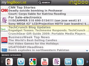 IngBoo Webstart for BlackBerry