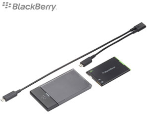 BlackBerry J series charging bundle