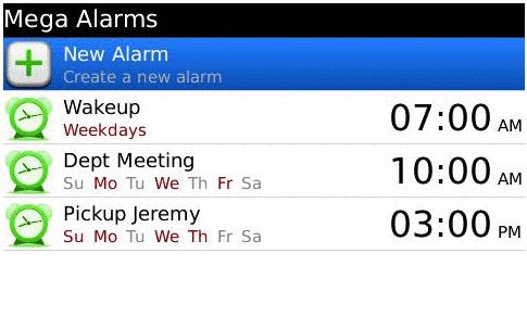 Mega Alarms