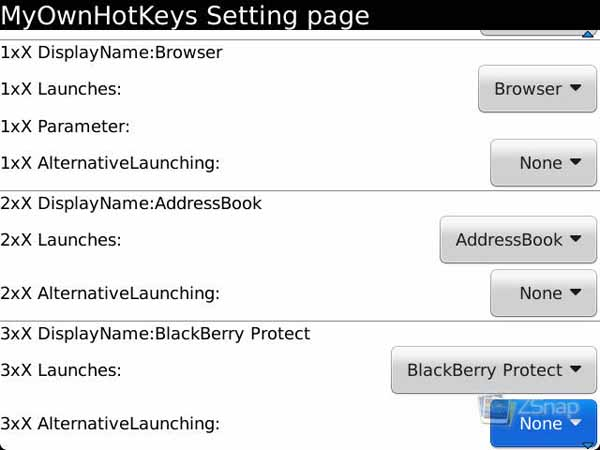 MyOwnHotkey Settings
