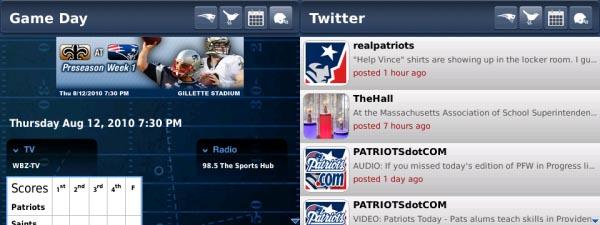 New England Patriots App