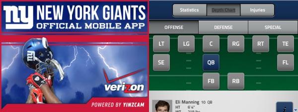 New York Giants App