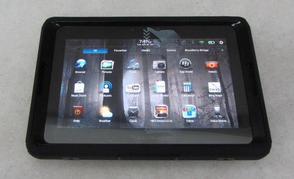 PlayBook in OtterBox case