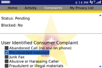 PrivacyStar make a complaint