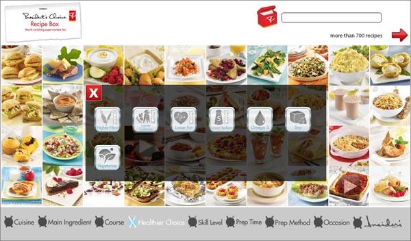 Recipe Box Healthier Choices