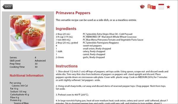 Recipe Box recipe card