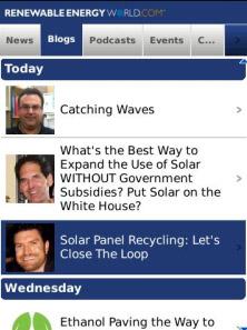 Renewable Energy News