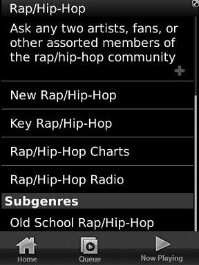 Rhapsody Genre Details