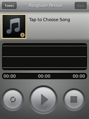 Ringtone Remix Main Menu