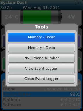 SystemDash Tools