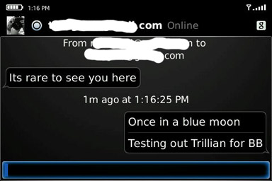 Trillian chat
