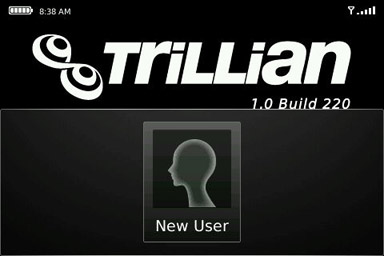 trillian new account