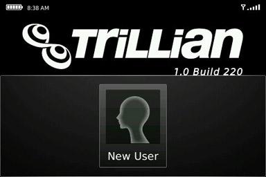 trillian new account