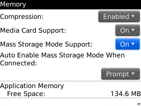 Memory options