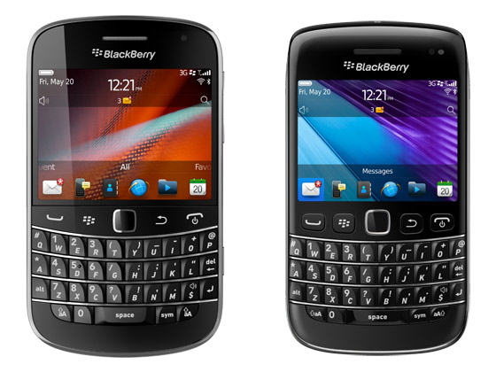 BlackBerry Bolds 9900 & 9790