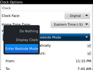 Don't want bedside mode?  Okay.