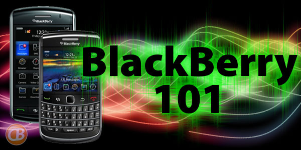 BlackBerry 101