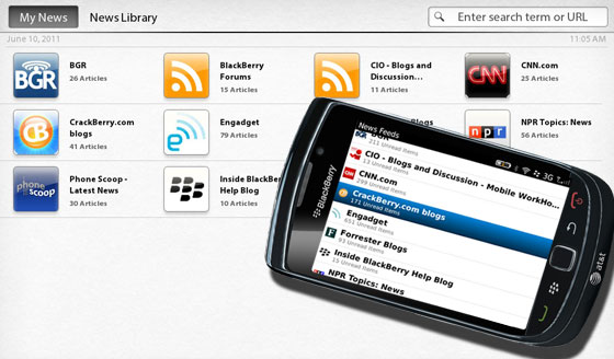 BlackBerry News & BlackBerry News Feeds