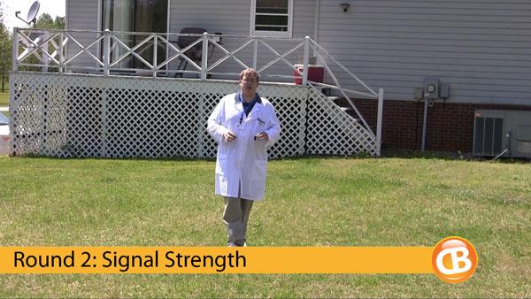 Round 2: Signal strength