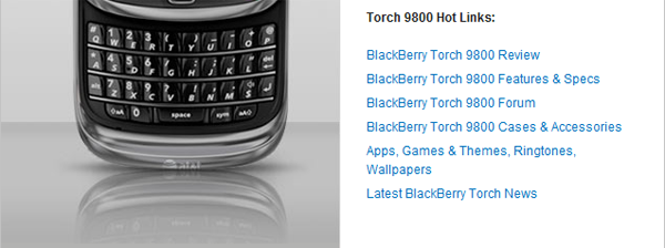 CrackBerry's Torch Superpage