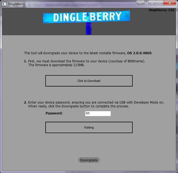 DingleBerry 3.x handles downgrading for you
