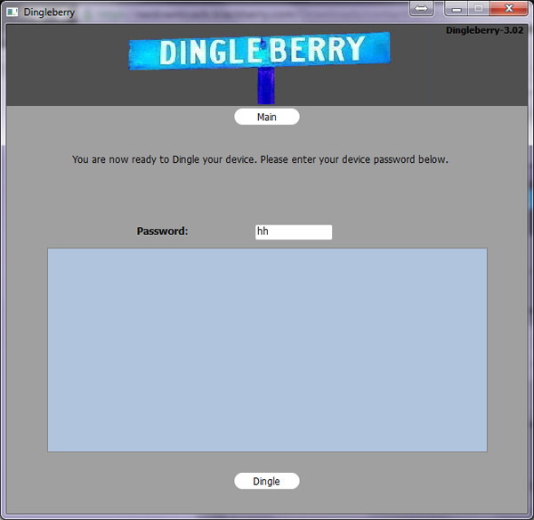 DingleBerry, ready to root