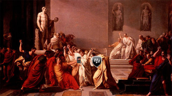 La Mort de César (by BlackBerry Protect)