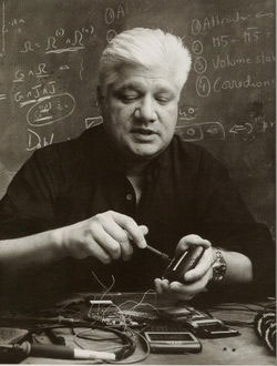 Mike Lazaridis at work