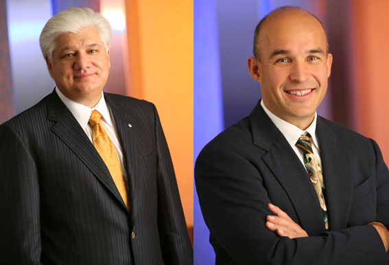 Mike Lazaridis and Jim Basillie