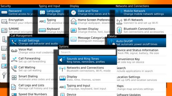 BlackBerry options