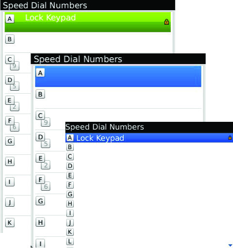 BlackBerry Speed Dial - 3 Different Ways