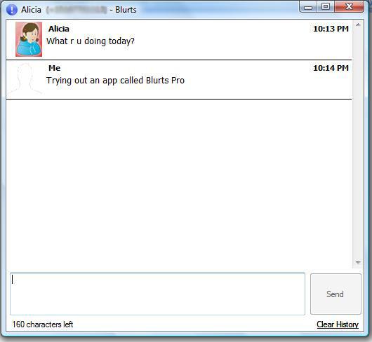 Blurts SMS Chat