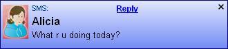 Blurts SMS