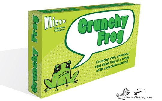 Crunchy Frog!