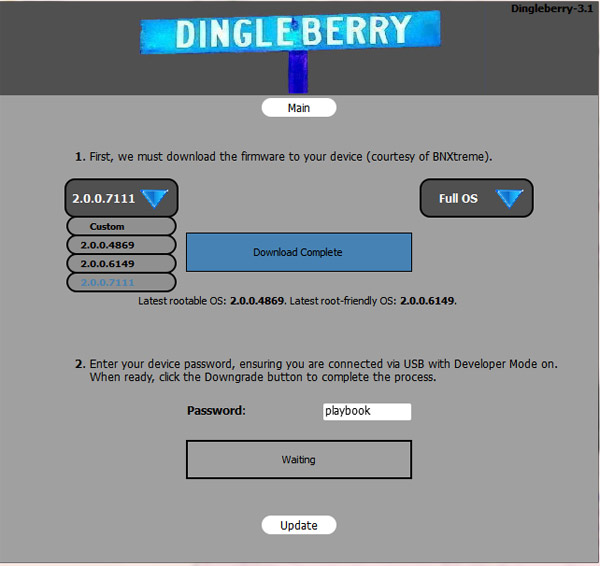DingleBerry 3.1 allows you to choose your OS