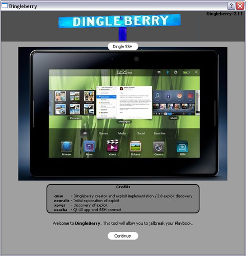 DingleBerry rooting tool