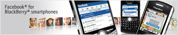 Facebook for BlackBerry smartphones