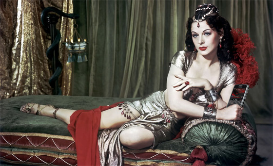 Hedy Lamar - the beauty of the Silver Screen