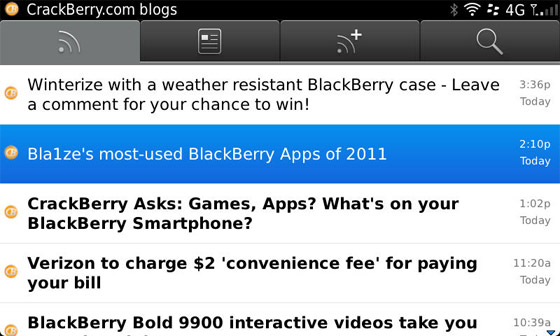 BlackBerry News for Smartphones
