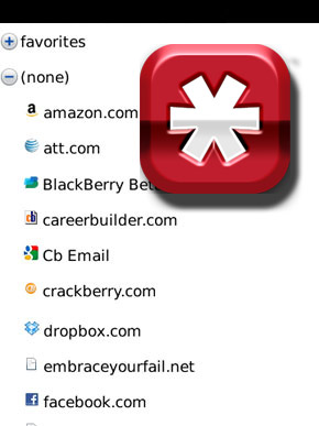 LastPass for BlackBerry Smartphones